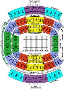 Jaguar Seating Chart Seating Chart Jacksonville Jaguars Tickets
