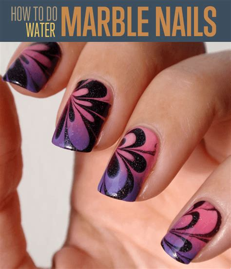How To Do The Water Nail