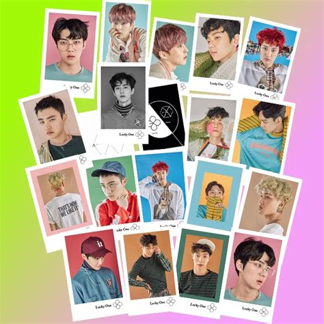 Postcard Photocard D O kpop exo ex act lomo carte card got7 photocards astro seventeen postcards bts