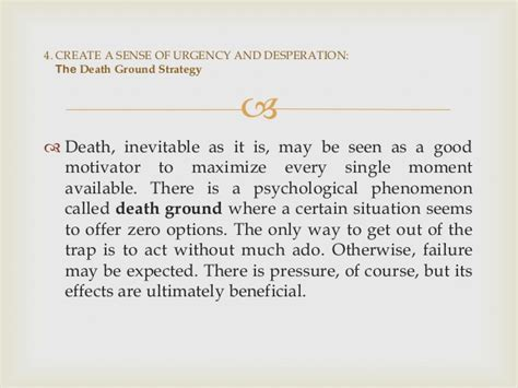 the 33 strategies of get unstuck the death ground strategy shameless pride