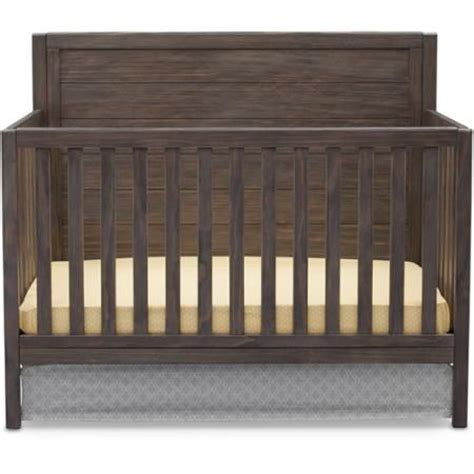 Delta Cambridge Crib by Delta Children Cambridge 4 In 1 Convertible Crib Rustic