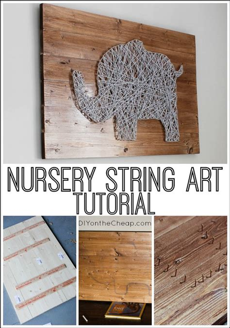 Diy String Patterns - 12 easy diy home decor ideas using string diy ready