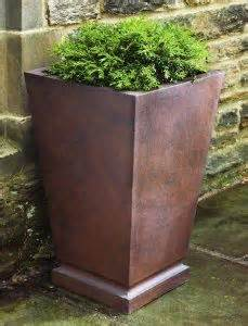where to buy large planters tall copper planters buy cheap spray with metal spray