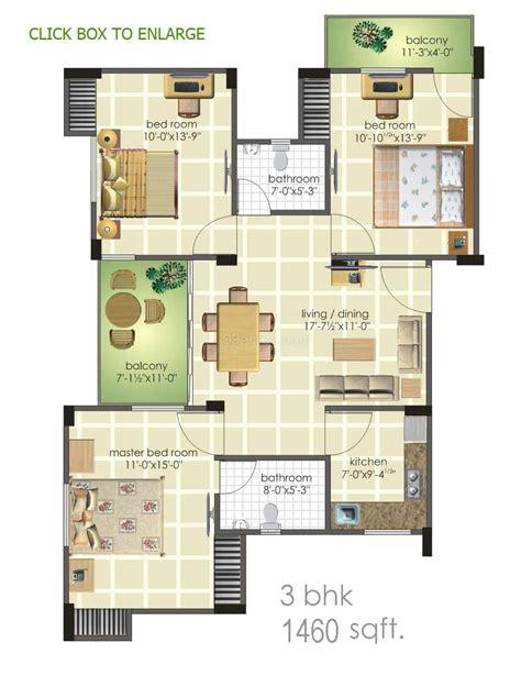 3 bhk floor plan harbinger real estate builders harbinger heights floor