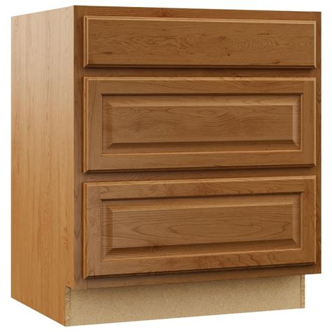 kitchen base cabinet drawers assembled 36x34 5x24 in sink base kitchen cabinet in