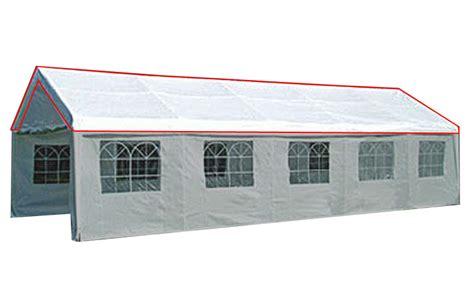 pavillon 8x4 kmh 174 ersatzdach 4x8 m ersatzplane dachplane festzelt