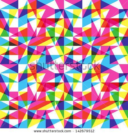 color pattern color trend pattern stock vector mile