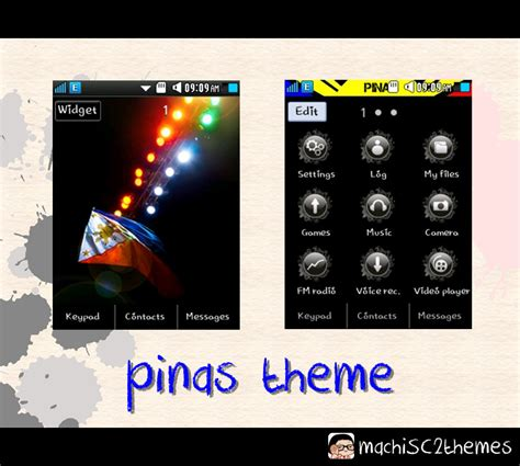 themes samsung corby 2 sweetkawaiimachi red black samsung corby 2 theme