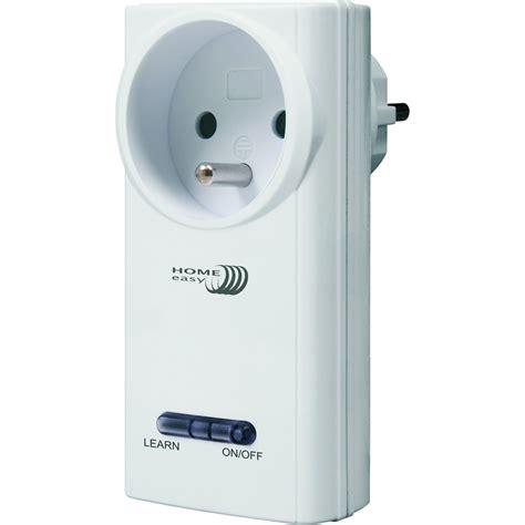 Prise Electrique Sans Fil 7370 by Prise Interrupteur Sans Fil Home Easy He877f Blanc