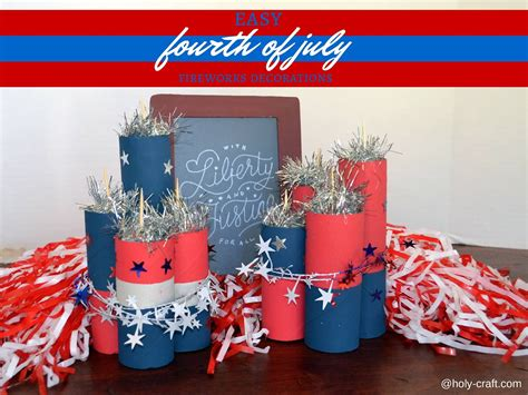 fourth of july decorations easy to make fourth of july firework decorations
