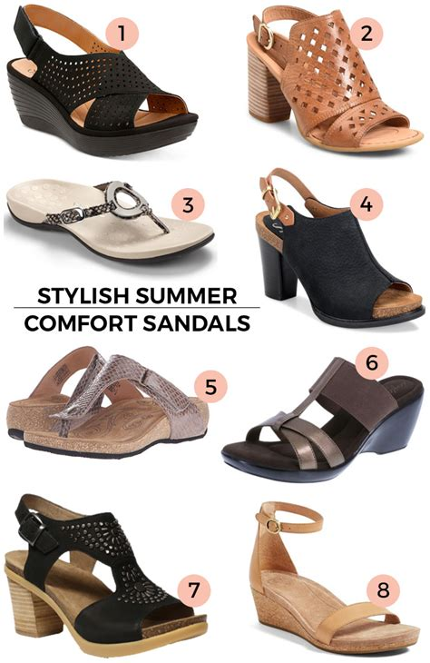stylish comfort sandals stylish comfort sandals for this spring summer jo