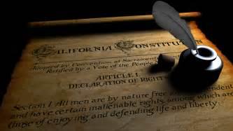 The Establishment A Brief History Of The California Constitution