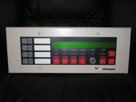 Simplex Alarm System Fazone Alarms Alarm Collection Simplex