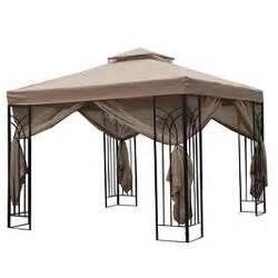 Gazebo Canopy 10x10 by Home Depot 10 X 10 Trellis Gazebo Replacement Canopy