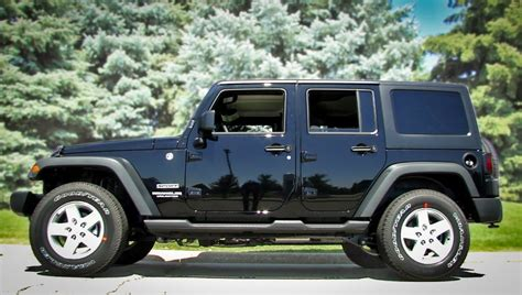 jeep wrangler unlimited sport top off jeep wrangler 4 door black image 149
