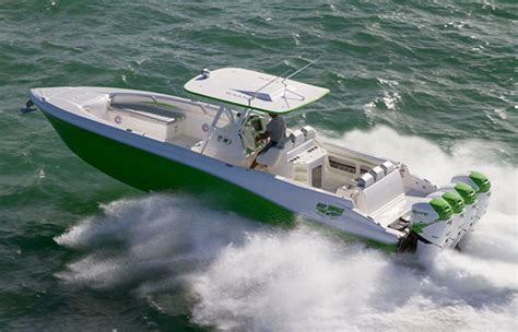 custom built sport fishing boats deep impact center console boats for sale
