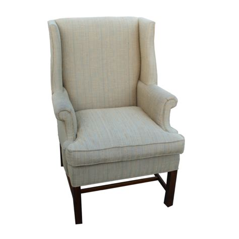 wingback bench vintage wingback hickory chair lounge arm chair ebay