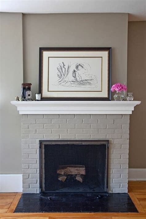 best paint for brick fireplace best 25 painting brick fireplaces ideas on painting brick paint brick and white