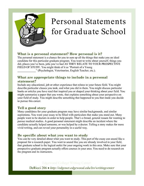 Personal Statement For Mba Scholarship by Sle Personal Statements Graduate School Personal