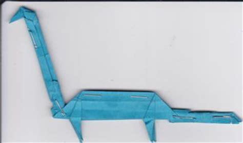 Origami Loch Ness - loch ness
