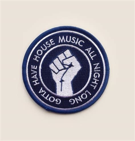 all about house music junior boy s own gotta have house music all night long patch nowayback