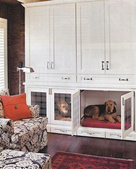 Kitchen Island Cabinet Design 21 stylish dog crates home stories a to z