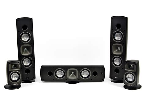 klipsch quintet sl 5 home theater speaker system woot