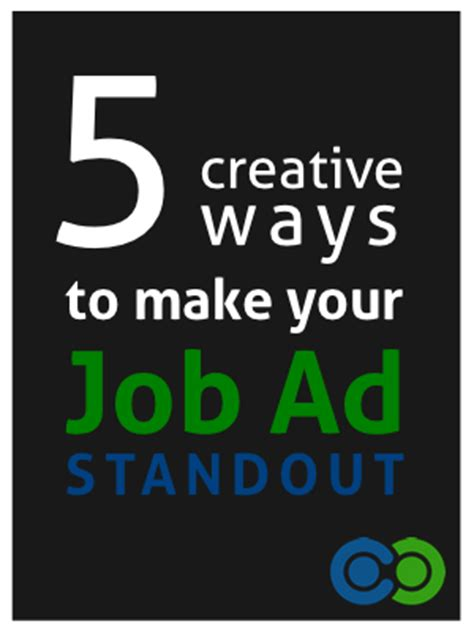 hiring ad template 5 creative ways to make your ad stand out