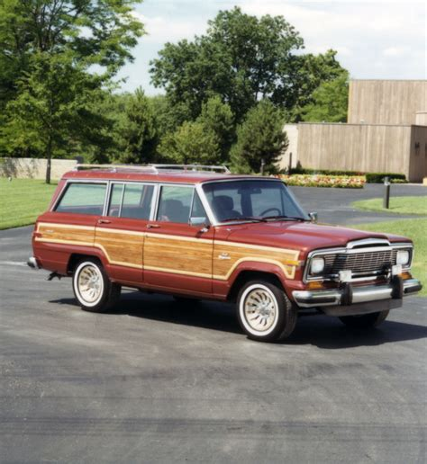 wagoneer jeep jeep 174 heritage 1984 1991 jeep grand wagoneer sj the