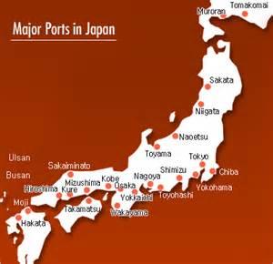 japanese shipping ports
