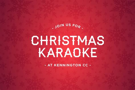 christmas karaoke at kennington cc kennington cricket club