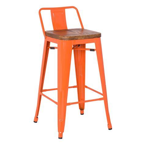 orange bar stools for sale metro modern low back orange bar stool eurway modern