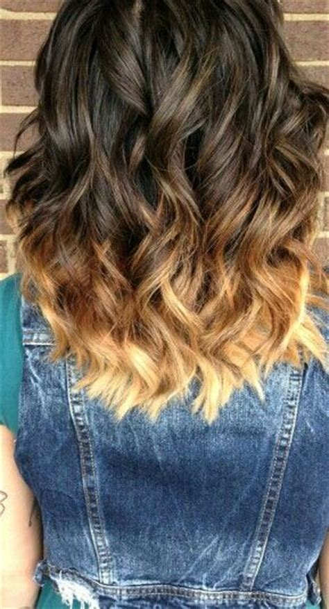 hpw to do ombre shoulder length hair yourself loreal 1000 ideas about ombre brown on pinterest brown hair