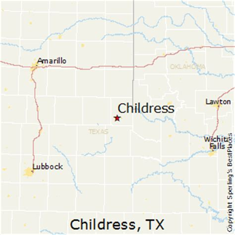 childress texas map best places to live in childress texas