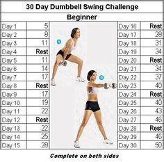 russian dumbbell swing fitness challenge russian twist 30 days challenge
