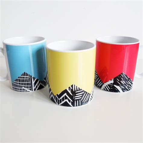 design mugs lino print design mugs thisisknockout