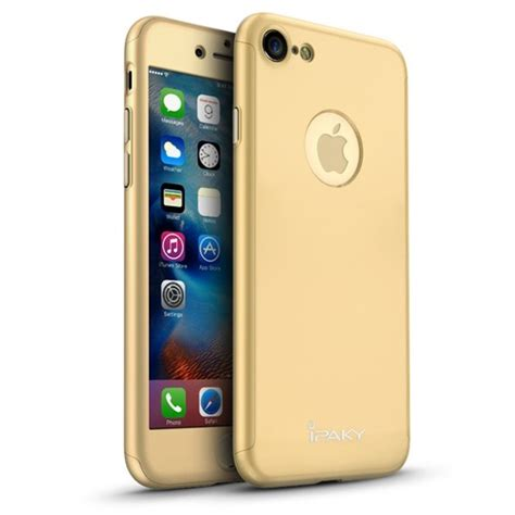 Gea Ipaky Apple Iphone 7 4 7 Gold ipaky 360 tok for apple iphone 7 gold temper 225 lt
