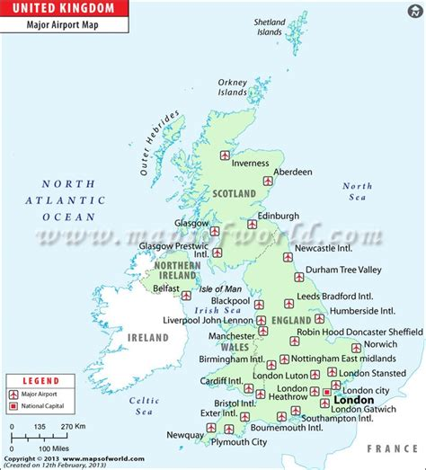 map uk international airports uk airports map www mapsofworld