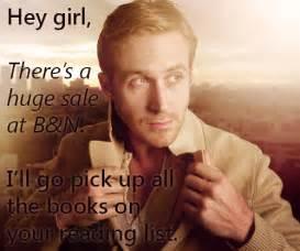 Ryan Gosling Reading Meme - writer problems ryan gosling gets it