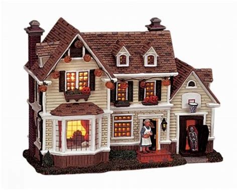 lemax halloween houses pin by stacy goforth on lemax 174 spooky town pinterest