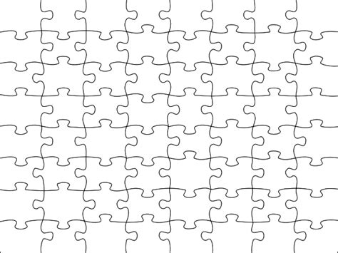 printable jigsaw puzzle template image detail for blank jigsaw puzzle template free