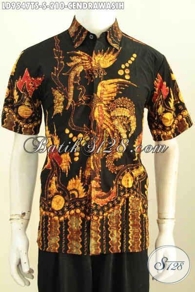 Bahan Batik Halus Motif Sinaran Cendrawasih Toska Batik Pekalongan kemeja batik kwalitas premium hem lengan pendek halus motif unik proses tulis soga bahan adem