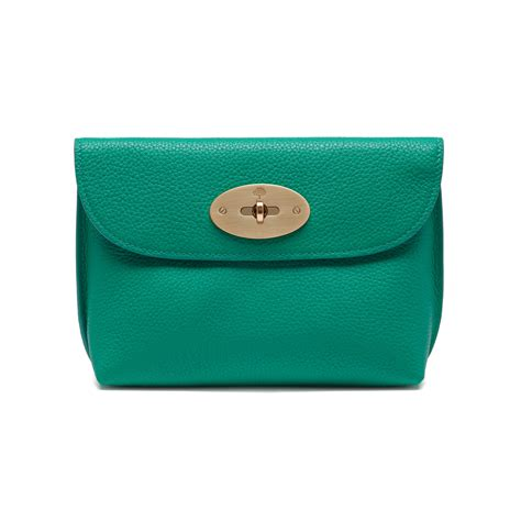 Mulberry Locked Purse by Mulberry Locked Cosmetic Purse In Blue Lyst
