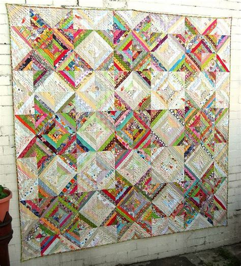 Amazing String - amazing scrappy string quilt quilt