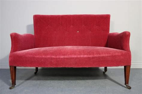 sofas and settees victorian antique two seater sofa settee antiques atlas