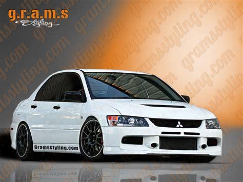 mitsubishi evo jdm mitsubishi lancer evolution 7 8 9 front bumper jdm style