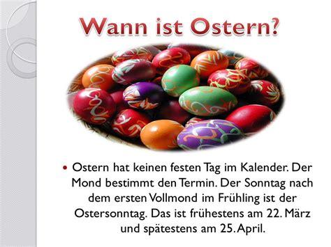 wann ist ostern regel ostern in deutschland ppt herunterladen