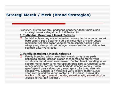 Minyak Goreng Merk Family strategi merek