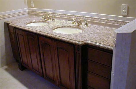 Vanity With Granite Countertop by Granite Vanity Tops