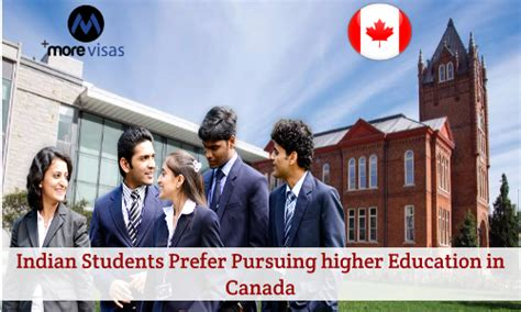 Indian Students In Canada For Mba by Indian Students Prefer Pursuing Higher Education In Canada